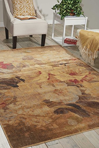 - Nourison Somerset Multicolor Rectangle Area Rug, 3-Feet 6-Inches by 5-Feet 6-Inches (3'6