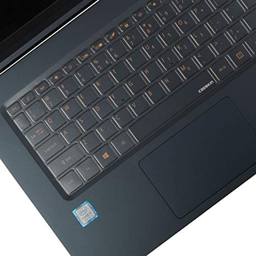 TPU Leze Ultra Thin Keyboard Skin Cover Compatible with 15.6 Acer Swift 5 SF515-51T Ultra-Thin /& Lightweight Laptop