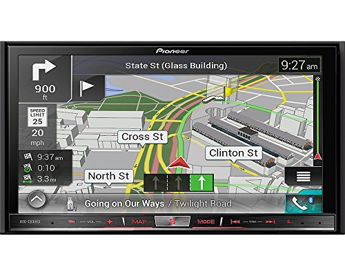 Pioneer AVIC-7201NEX Double Din Radio Install Kit with GPS Navigation Apple CarPlay Android Auto Fits 2010-2013 Non Amplified Toyota 4Runner by Pioneer Volunteer Audio (Image #5)