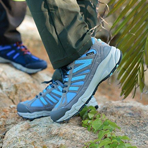 2017 Herbst Outdoor Sneakers Paare Schuhe Low-Top Komfortable Wanderschuhe 38-44 Blue
