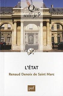 L'Etat par Denoix de Saint Marc