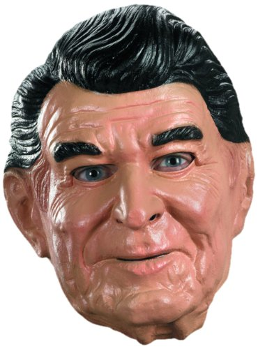 Disguise Reagan Vinyl Costume Mask - http://coolthings.us