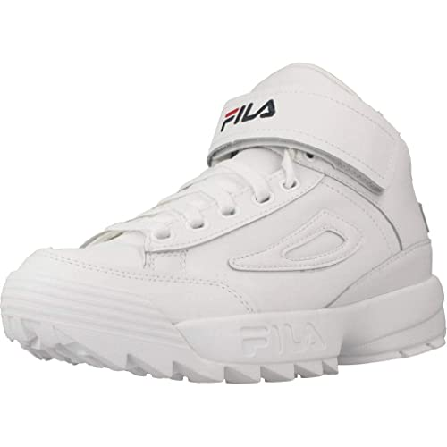 Calzado Deportivo para Mujer, Color Blanco, Marca FILA, Modelo Calzado Deportivo para Mujer FILA D2 Disruptor Mid Blanco: Amazon.es: Zapatos y complementos