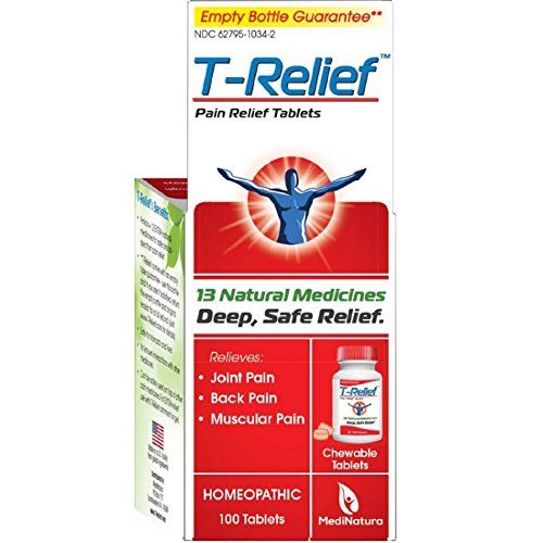 T-relief Pain Relief 100 Tablets