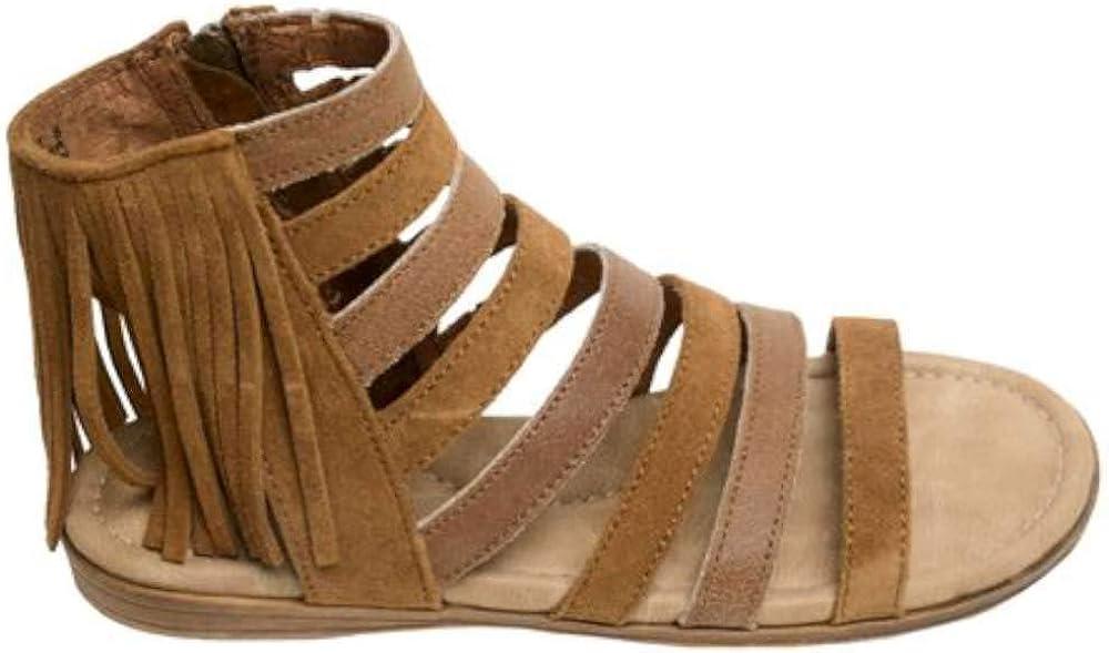 Minnetonka Womens Pisa Snakeskin Open Toe Casual Gladiator Sandals