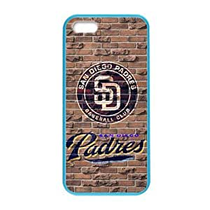 iFanatic MLB San Diego Padres CashmereCustom Colorful Case for iPhone 5,5s.