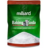 Milliard 19lbs Baking Soda/Sodium Bicarbonate USP - 19 Pound Bulk Resealable Bag