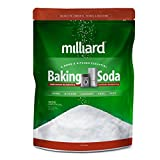Milliard 19lbs Baking Soda / Sodium Bicarbonate USP - 19 Pound Bulk Resealable Bag