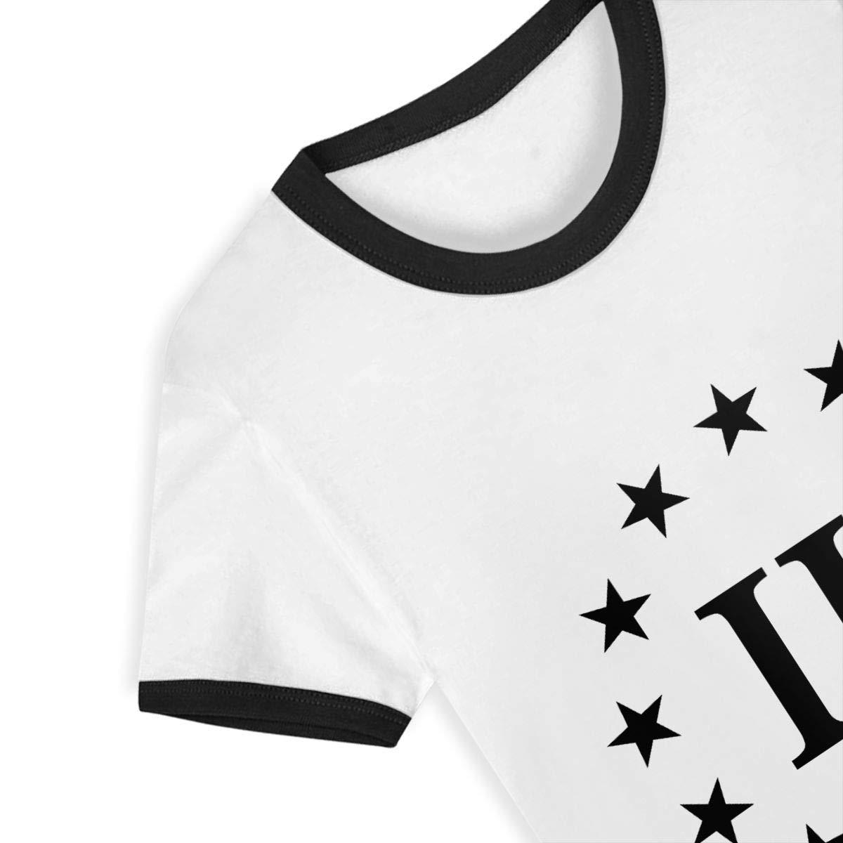 Kids T-Shirt Tops Three Percenter Unisex Youths Short Sleeve T-Shirt