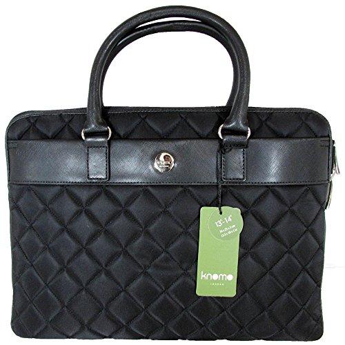 Knomo Laptop Bags (Knomo Avignon 13-Inch 24-203 Laptop Bag,Black,One Size)