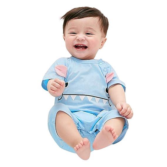 Berimaterry Bebes niños niñas Pijamas Ropa de Dormir Bodies Camiseta ...