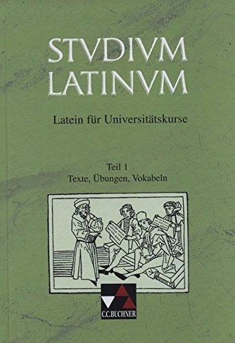 Studium Latinum, in 2 Tln., Tl.1, Texte, Übungen, Vokabeln pdf