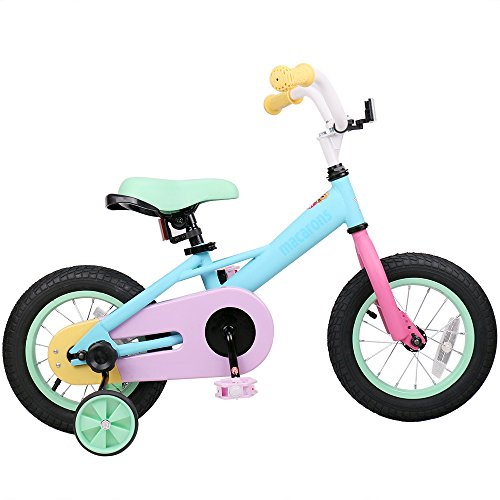 JOYSTAR Kids Bike with Training Wheels for Girls, 85% Assembled