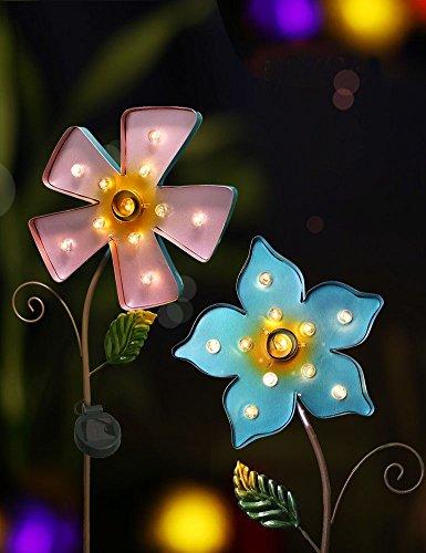 BRIGHT Large Garden Lights Flowers