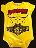 YELLOW Infant Hulk Hogan Costume (6 months)