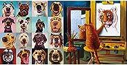 "Buffalo Games - Follow Your Nose - 300 Large Piece Jigsaw Puzzle Multicolor, 18""L X"