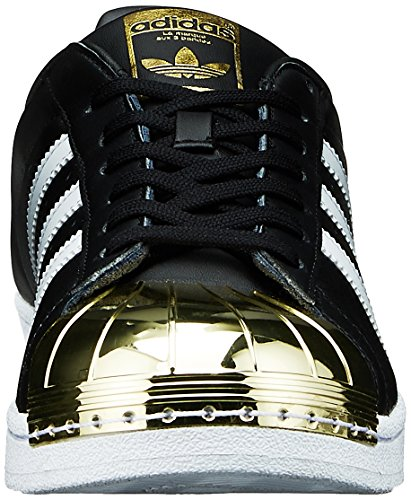Metal Black Toe White footwear Mujer Para core Negro Met Superstar Originals Zapatillas Adidas gold z4x6Eq