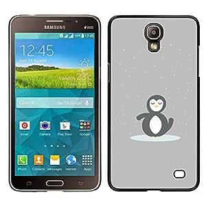 A-type Arte & diseño plástico duro Fundas Cover Cubre Hard Case Cover para Samsung Galaxy Mega 2 (Minimalista Pingüino lindo)