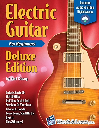 Electric Guitar Primer Book For Beginners Deluxe Edition (Video & Audio Access)