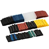 Heat Shrink Tubing 580 Pcs Electric Insulation Shrinkable Wrap Cable Sleeve Tubes Kit 6 colors by FREESOO