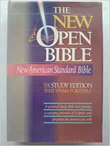Holy Bible: The New Open Bible, Study Edition, New
