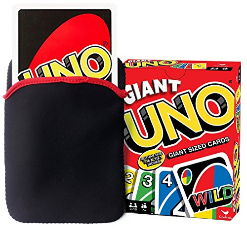 FitSand Soft Bag Case for Giant Uno Giant Game Travel Zipper Carry EVA Best Protection Box