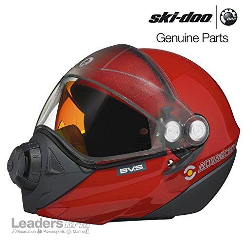 Ski-Doo New OEM BV2S Helmet Red XL Extra Large 4474041230 (Ski Doo Helmet Bv2s)