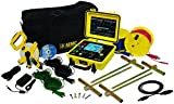 AEMC 6470-B Multi-Function Digital Ground Resistance Tester Kit, 99.99 Kilohms Resistance, 32V Voltage, 250mA Current with 300' Leads