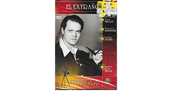 Amazon.com: The Stranger (el Extrano) 1946 - European Import - all Region - Orson Wells: Movies & TV