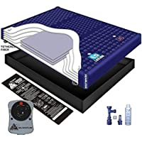 98% WAVELESS WATERBED MATTRESS / LINER / HEATER / FILL DRAIN / CONDITIONER KIT (Queen 60x84 1L5G2)