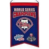 MLB Philadelphia Phillies WS Champions Banner, One Size