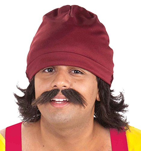 Forum Novelties Men's Cheech Kit with Cap Wig
