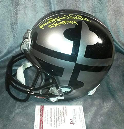 Randy White Autographed Signed Memorabilia Maryland Terps Full Size Helmet - JSA Authentic