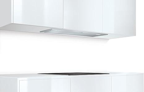 Bosch DHL885C - Campana (Canalizado/Recirculación, 730 m³/h, A, Built-under, LED, 266 Lux) Acero inoxidable: 354.65: Amazon.es: Grandes electrodomésticos