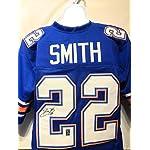 online store b41a0 04e00 Emmitt Smith Florida Gators Signed Autograph Blue Custom ...