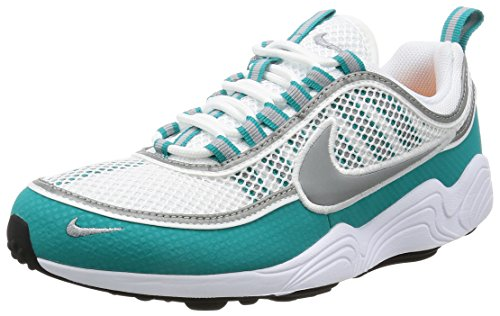 74e57f0da129 Galleon - NIKE Air Zoom SPRDN Mens Running-Shoes 849776-102 10 - White  Silver-Turbo Green-Laser Orange