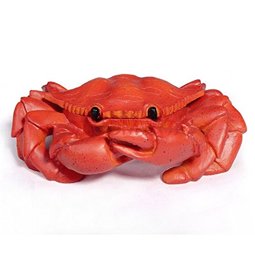 (Nanxin Love Crab Ashtray Fine Gift for Father's Day Resin Ashtrays with Gift Card)
