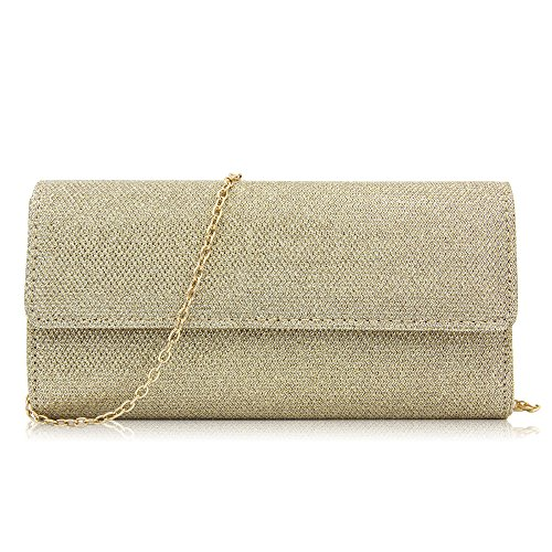 Chain Or Elegant Clutch Sequins Evening Shoulder Bags Clutch Women Bag Milisente Purse w8PRc