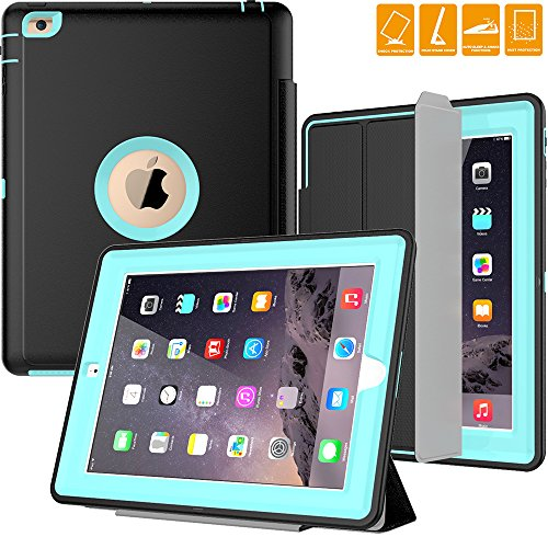 Smart Cover Case for Apple iPad 2/3/4 (Blue) - 7