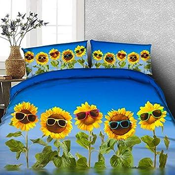 Lifeisperfect Jf 463 Cartoon Gelbe Sonnenbrille Sonnenblume Betten
