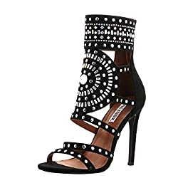 Women's Open Toe High Heel Rhinestone Sandals