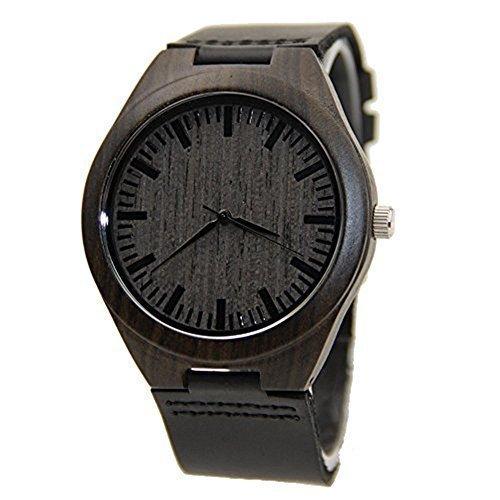 Movimiento relojes de cuarzo ocasional de los hombres ocasionales con Japón cuero pulsera de la exhibición analógica