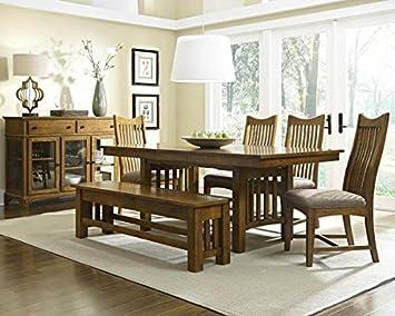 Ordinaire Laurelhurst 92u0026quot; Rectangular Trestle Table   Rustic Oak