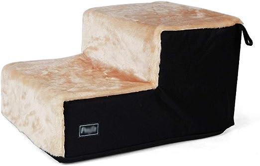 Escaleras para mascotas Gatos y perros Escaleras Almohadillas lavables de peluche de peluche para mascotas Escalera para camas de entrenamiento Alfombras de escalera de cama - 2 tamaños disponibles Ár: Amazon.es: Productos