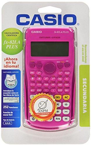 Casio FX-82LAPLUS-PKSCMH Calculadora