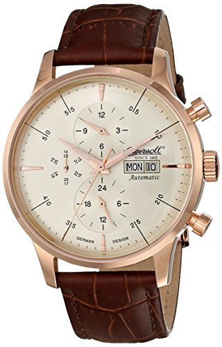 Ingersoll Men's IN2819RCR Columbia No. 1 Analog Display Automatic Self Wind Brown Watch