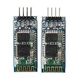 HC-06 Wireless Bluetooth Transceiver Module - SODIAL(R) 2 x Arduino JY-MCU HC-06 Wireless Bluetooth Serial RF 5V Transceiver Module