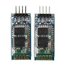 HC-06 Wireless Bluetooth Transceiver Module - SODIAL(R) 2 x Arduino JY-MCU HC-06 Wireless Bluetooth Serial RF 5V Transceiver Module