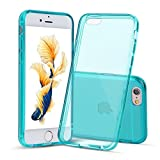 """iPhone 6s Case, 4.7"""" Shamo's Thin Case Cover TPU Rubber Gel, Transparent Clear Back Case for Iphone 6, Soft Silicone, Shamo's [Compatible with iPhone 6 and iPhone 6s] (Dark Green)"""