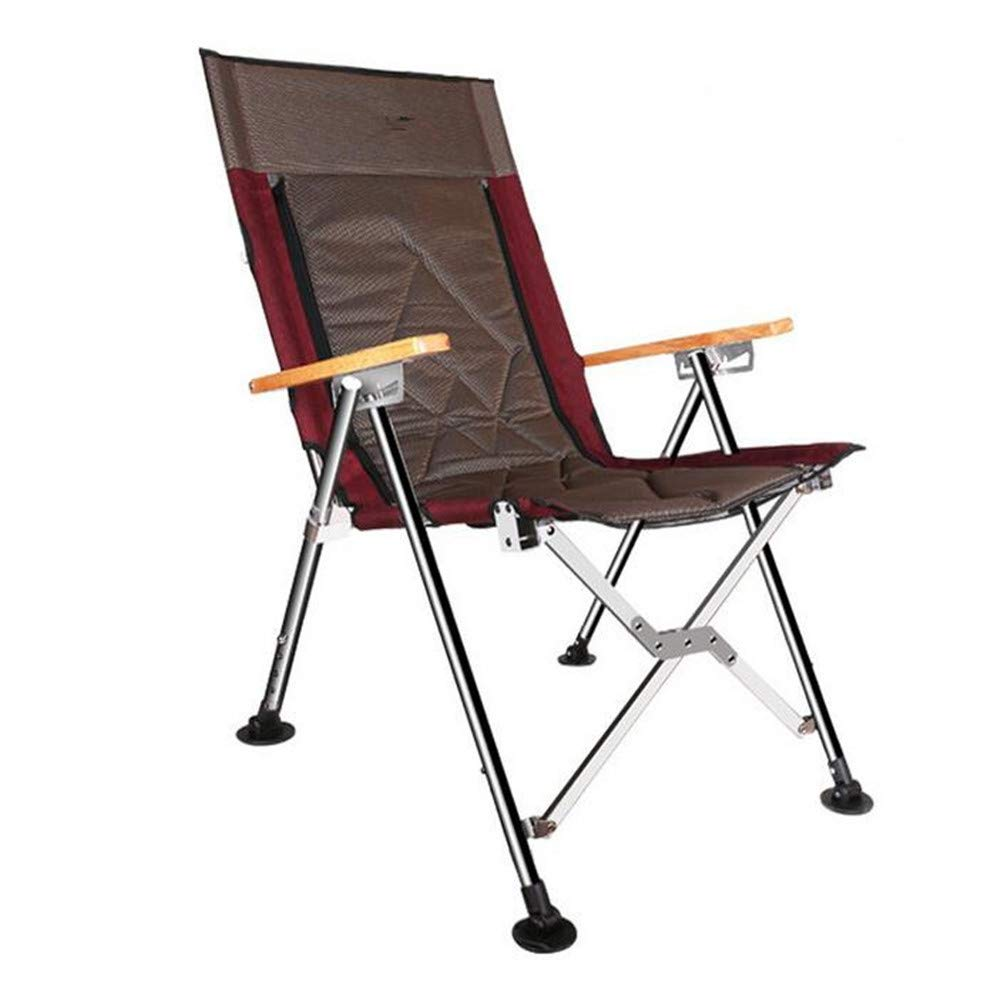 LBAFS Fischen-Stuhl-Gang, der Tragbaren Schemel-Stuhl Mit Den Armen Für Strand-kampierende Freizeit Im Freien Faltet,A